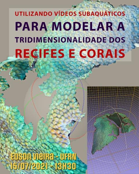 CEBIMário: Utilizando vídeos subaquáticos para modelar a tridimensionalidade dos recifes e corais