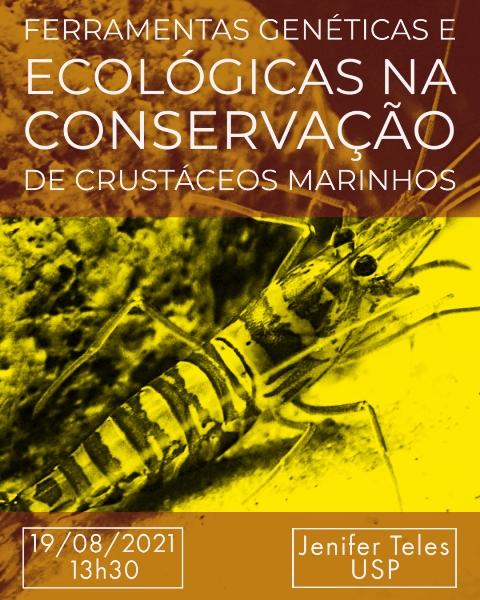 CEBIMário: Ferramentas genéticas e ecológicas na conservação de crustáceos marinhos